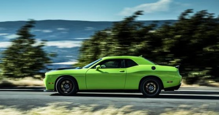 2015 Dodge Challenger SRT Hellcat Fuel Economy Announced