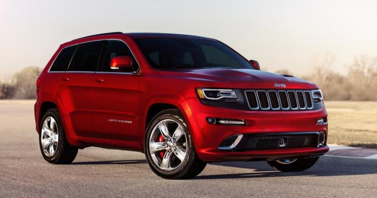 2015 Jeep Grand Cherokee SRT Gets a Few Tweaks