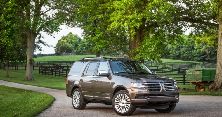 Navigator Wins Vincentric Best Value in America for Large Luxury SUVs