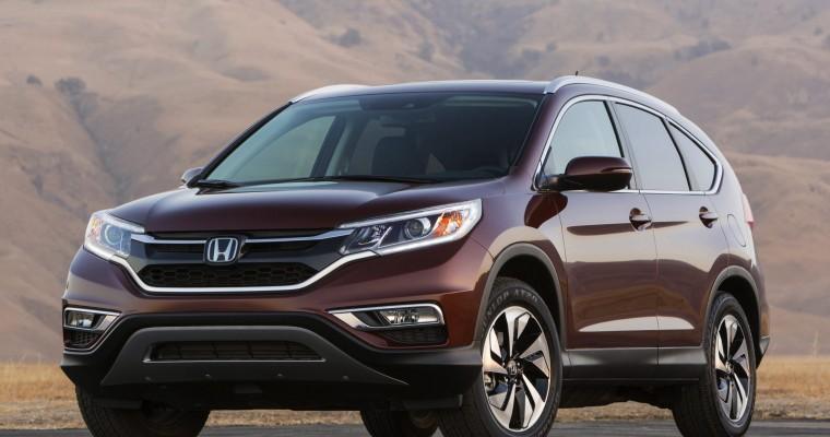 Honda CR-V and Fit Engine Named 2015 Green Car Awards Finalists