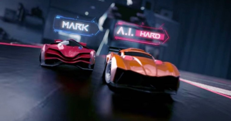 Real-Life Video Game: Anki Drive Remote Control Race Cars
