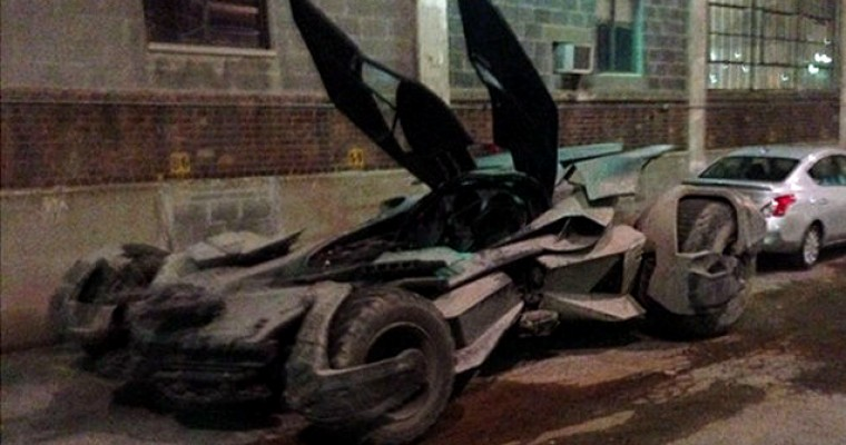 Are You the New Batmobile from Dawn of Justice?