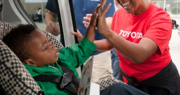 Baby Safety Month: Toyota and Cincinnati Children's Buckle Up for Life Program