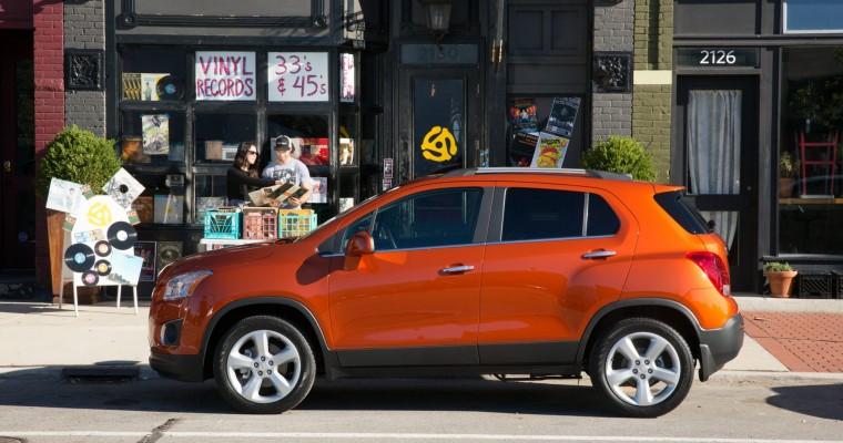2015 Chevy Trax Price to Start at $20,995