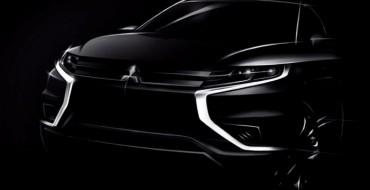 Mitsubishi Teases Outlander PHEV Concept-S Ahead of Paris Reveal