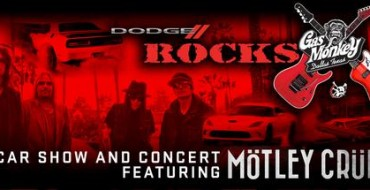 Dodge Rocks Gas Monkey Concert to Feature Mötley Crüe