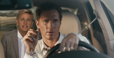 [VIDEO] Ellen Spoofs McConaughey Lincoln Ad