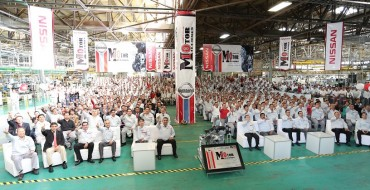 Nissan Aguascalientes Powertrain Plant Builds 10 Millionth Engine