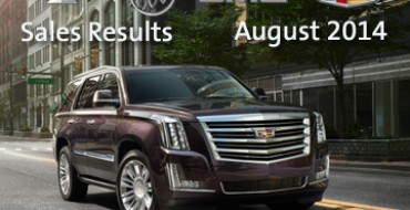 Pickups Led GM's August 2014 Sales Charge