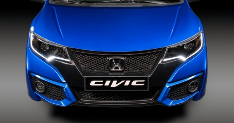 [PHOTOS] Check Out the New 2015 Honda Civic Sport