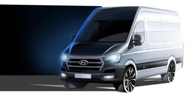 Hyundai H350 Images: Attempt to Make Cargo Van Cool Fails