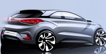 Hyundai i20 Coupe Sketch Reveals 3-Door Version of Supermini