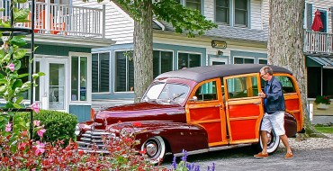 Celebrity Rides EXCLUSIVE: Eric Clapton Drives a 1947 Chevy Woody