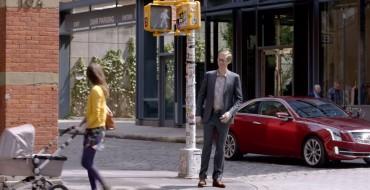 2015 Cadillac ATS Coupe Ad Stars Stephen Merchant