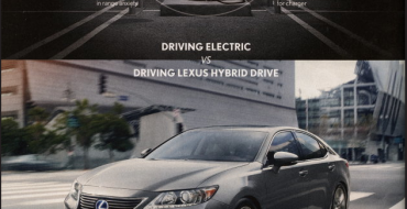 Lexus Anti-EV Ad: Folks Are Too Dumb to Download Apps