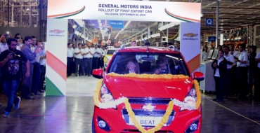 Chevrolet India Announces Vehicle Price Hike for 2017