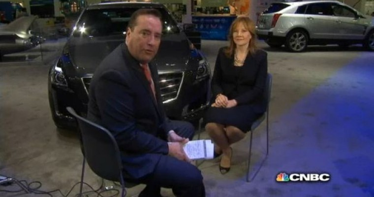 Mary Barra and Phil LeBeau Sit Down for a Chat