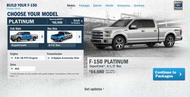 2015 F-150 Configurator Live Now, So Go Play