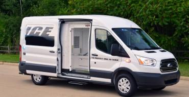 [PHOTOS] Ford Transit Prisoner Transport Vehicle Concept