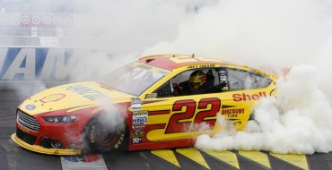 Joey Logano Wins at New Hampshire