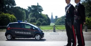 Mitsubishi Delivers 23 i-MiEVs to Italy's Carabinieri