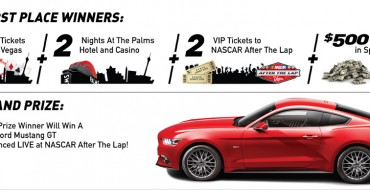 Enter NASCAR After the Lap Sweepstakes to Win a 2015 Mustang GT