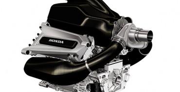 Honda's New Formula 1 Engine Revealed