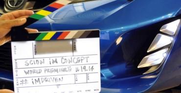 Scion iM Concept Teased for LA, Sketches Revealed for SEMA