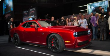 2015 Challenger SRT Hellcat VIN0001 Fetches $1.65M for Charity