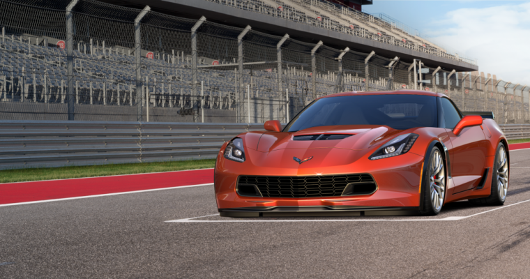 2015 Corvette Z06 Colors Featured on New Configurator