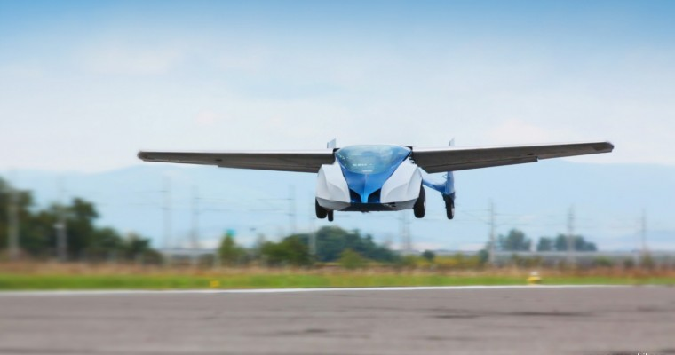 Flying Car Impresses Audiences at SXSW
