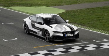 Audi RS7 Piloted Concept Goes 140 MPH Without a Driver