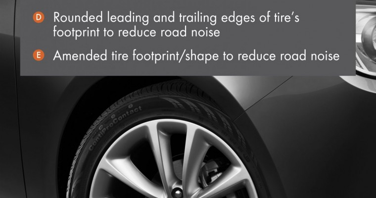 Buick Verano's Tires Give a Quieter Ride
