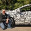 Chevy Volt Camouflage Is Tough Business