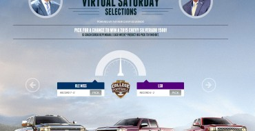 Win a Silverado via ESPN's Chevy Virtual Saturday Selections Sweepstakes