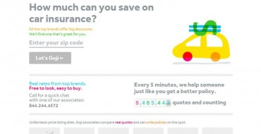 Goji Identifies How You Can Save On Car Insurance