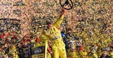 Joey Logano Wins First Contender Round Race in Kansas