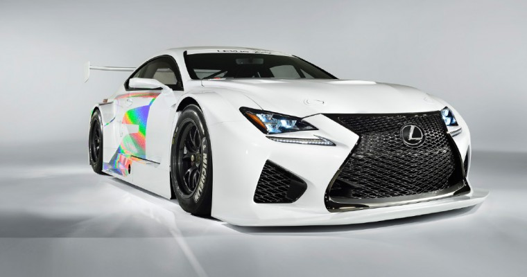 Lexus RC F GT3 Could Join V8 Supercars in 2017