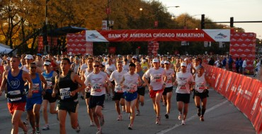BMW Values Blurred Legs With Chicago Marathon Sponsorship