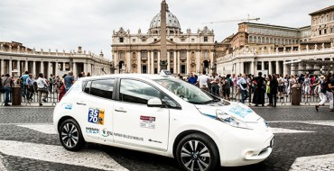 Nissan Breaks Yet Another Electric Vehicle Milestone: 550 EV Taxis