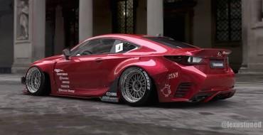 Rocket Bunny Lexus RC F Sport Preps for SEMA Debut