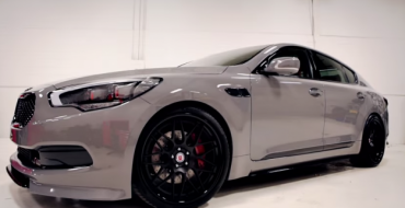 High-Performance Kia K900 SEMA Concept Teased in New Video