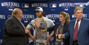 "Madison Bumgarner Gives Dad World Series Truck Loaded with ""Technology and Stuff"""