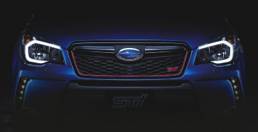 Subaru Forester STI Teaser Photos Revealed