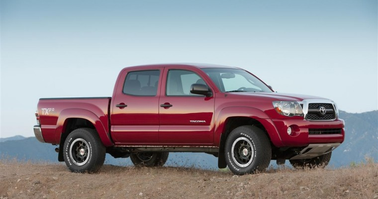 Toyota Tacoma Recall: 690,000 Trucks Recalled for Rust Issue