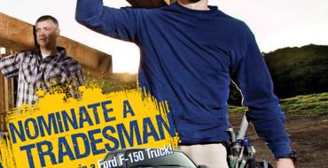 Win a 2015 F-150 in Irwin Tools Ultimate Tradesman Contest