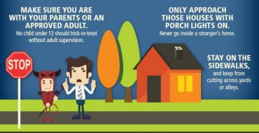 Trick-or-Treat Safety Infographic: Keep Your Night Spooky and Safe