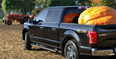 2015 F-150 Handles 1,200 lb. Pumpkin for a Happy Haul-o-ween