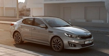 Kia Optima T-Hybrid Concept Premiering in Paris