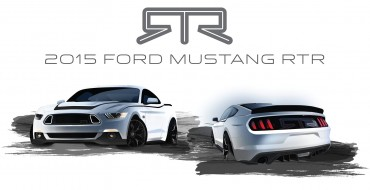 2015 Mustang RTR Teased Ahead of Monday Reveal